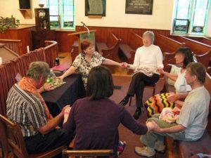 Community Healing Circle of the Belwood-Metz Parish St. John's United Church, Belwood, ON